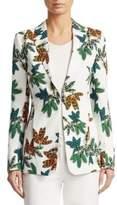 Akris Punto Tropical-Print Jacket