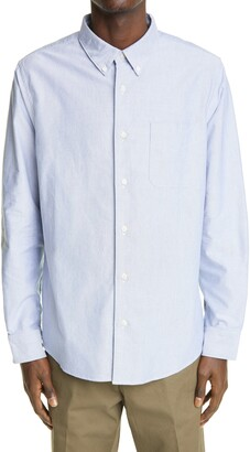 Visvim Albacore Lungta Button-Down Cotton Shirt