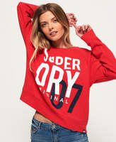 Superdry SD Dimensional Panelled Crew Jumper