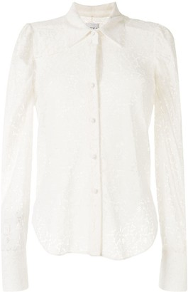 MISA Lace Embroidered Shirt