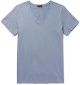 Hanro - Mercerised Stretch-cotton T-shirt