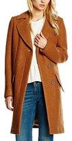 BOSS ORANGE Women's Onati Coat, Brown (Light/Pastel Brown)