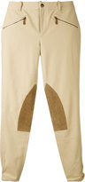 Ralph Lauren knee patch skinny trousers - women - Cotton/Spandex/Elastane - 4