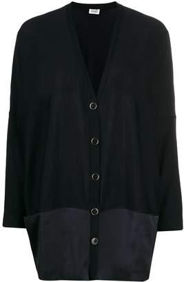 Liu Jo oversized contrast panel cardigan
