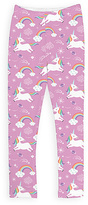 Urban Smalls Lavender Unicorns Leggings - Toddler & Girls