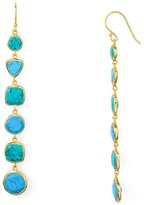 Argentovivo Stone Linear Earrings