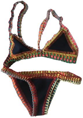 Kiini Multicolour Synthetic Swimwear