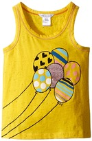 Little Marc Jacobs Jersey Tank Top with Balloons Or Beach Supplies Girl's Sleeveless