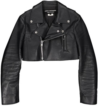 Junya Watanabe Black Leather Jackets