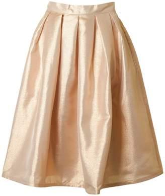 Forever Unique Lurex Full Skirt Colour: BRONZE, Size: 10