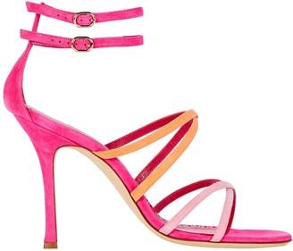 Manolo Blahnik Triplexa 105 Strappy Sandals