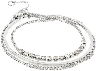 AllSaints Chain Wrap Bracelet