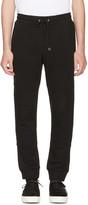 McQ by Alexander McQueen Black Glyph Logo Lounge Pants