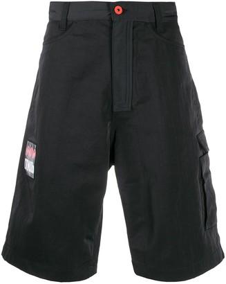 Heron Preston loose-fit cargo shorts