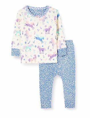 Hatley Baby Girls' Organic Cotton Long Sleeve Pyjama Sets