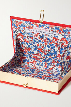 Olympia Le-Tan Harper's Bazaar Embroidered Appliqued Canvas Clutch - one size