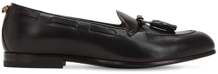 Gucci Loomis Tassel Leather Loafers