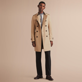 Burberry The Chelsea - Long Heritage Trench Coat , Size: 58, Yellow