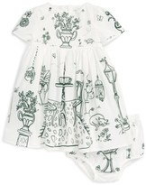 Dolce & Gabbana 'Giardino' Fit & Flare Dress (Baby Girls)