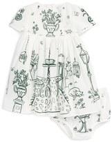 Dolce & Gabbana Infant Girl's 'Giardino' Fit & Flare Dress