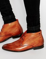 Base London Henry Leather Chukka Boots