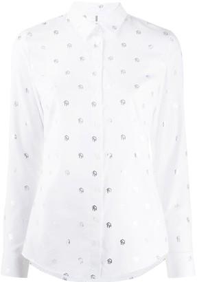 Tommy Hilfiger Monogram Slim-Fit Cotton Shirt