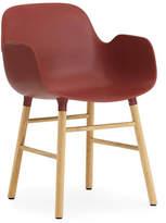 Normann Copenhagen Form Armchair Red/Oak