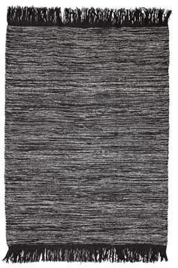 Bloomingville Grey Wool Rug - grey - Grey