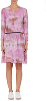 Raquel Allegra Women's Tie-Dyed Georgette Belted Dress-PINK