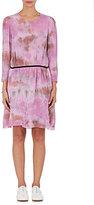 Raquel Allegra Women's Tie-Dyed Georgette Belted Dress