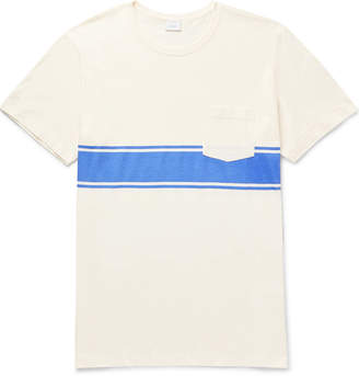 Onia Johnny Striped Cotton And Modal-Blend Jersey T-Shirt