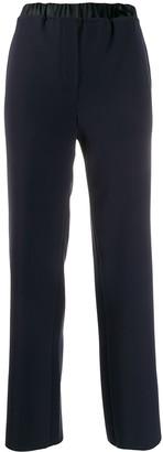 Emporio Armani Pull-On Elasticated-Waist Trousers
