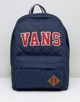 Vans Old Skool Backpack In Blue