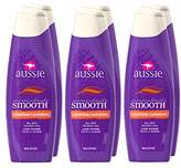 Aussie Miraculously Smooth Conditioner 13.5 Fl Oz (Pack of 6)