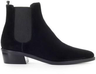 Michael Kors Lottie Black Suede Ankle Boot