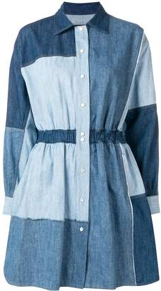 Dolce & Gabbana patchwork denim dress