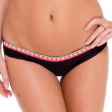 Luli Fama Mult.Crochet Lo Rise Hipster Bottom In Black (L528583)