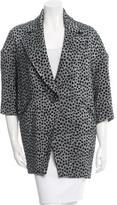Isabel Marant Textured Oversize Coat