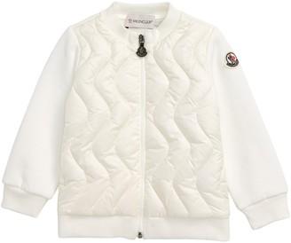 Moncler Zip Down Puffer Sweatshirt