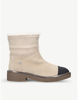 DKNY Fay suede ankle boots
