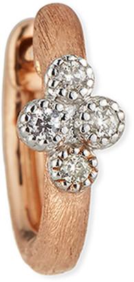 Jude Frances 18K Petite Diamond Quad Hoop Earring, Single