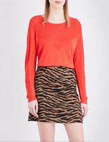Claudie Pierlot Mahe knitted top
