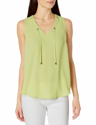 Kasper Women's V Neck CDC Cami with Grommet Tie (2)