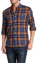 Lucky Brand Plaid Regular Fit Shirt