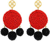 Henri Bendel Astor Circle Beaded Chandelier Earring