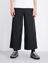J.W.Anderson Wide cropped mid-rise wool trousers
