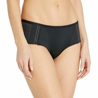 RVCA Women's My Tide Boyshort Bikini Bottom