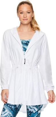 Gaiam Women's Hooded Anorak Jacket