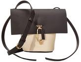 Zac Posen Belay Mini Crossbody - Color Block (Brindle/Ivory) Cross Body Handbags