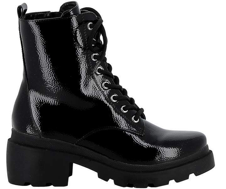 KENDALL + KYLIE Kendall+kylie Black Patent Leather Ankle Boots